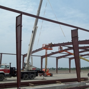 Pre Engineered Steel Frame