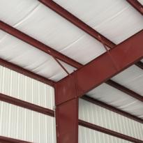 Vinyl Faced Roof Insulation