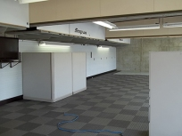 Panther Racing Garage Build-Out at IMS